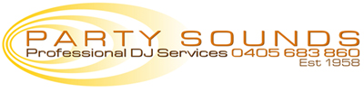Party Sounds Professional DJ's, Award wining Perth Wedding DJ